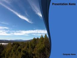 Free Sky And Clouds Powerpoint Template Backgrounds Sky