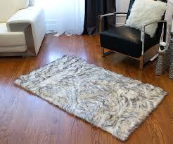 faux sheepskin area rug faux sheepskin area rug black