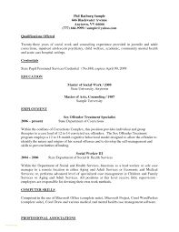 Resume For Social Worker Updated Sample Resumes For Social Workers
