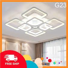 ĐÈN ốp trần , đèn led trang trí phòng khách 3 chế độ sáng bảo hành 12  tháng, Giá tháng 11/2020