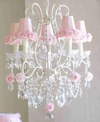 pink chandelier lighting. Baby Girl Pink Chandelier White For Girls Room Nursery Toddler Bedside Lamp Lighting