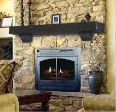 rustic fireplace mantle oak mantel shelf