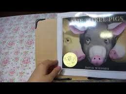 read aloud the three pigs by david wiesner