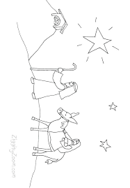 Free Printable Nativity Coloring Pages Nativity Coloring Pages
