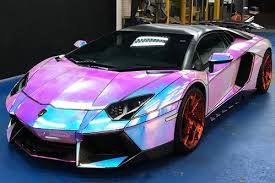 Customizer Gives Lamborghini Aventador A Hologram Wrapping  B