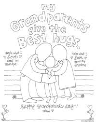 Coloring Pages Grandma And Grandpallll