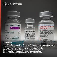 ผอ.วัคซีนยอมรับ ไทยจะได้วัคซีน AstraZeneca เดือนละ 5-6 ล้านโดส  พร้อมยืนยันว่าไม่เคยทำสัญญาส่งมอบ 10 ล้านโดส