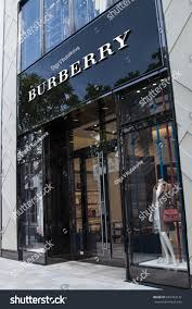 Burberry Design District Design District Miami Fl June 22nd Stock Photo Edit Now