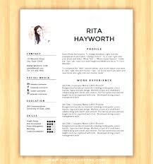 Template Template Resume Microsoft Word Free With Photo Insert Ms