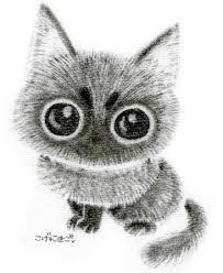 黒猫イラスト イラストレーター くるみるか かわいい黒猫の画像