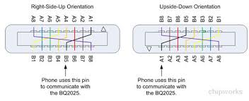 systems analysis of the apple lightning to usb cable chipworks furthermore if the user has inserted the cable upside down or is it right side up the phone needs to use the left most pin