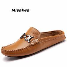 <b>Misalwa 2019</b> New <b>Summer</b> Genuine Leather Men Shoes Luxury ...