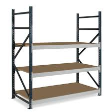 dexion longspan shelving 450mm deep 3 chipboard shelves