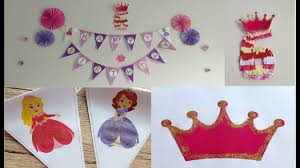 diy easy birthday party decorations with paper how to make princess birthday party decorations