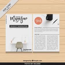 e magazine templates free download design magazine template vector free download