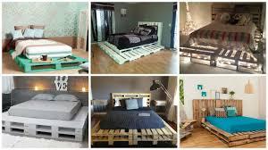 Pallet Bedroom Diy Pallet Bed Archives Architecture Art Designs