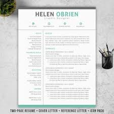 Jordaan Resume   CV Template   Blue layout     thevictorianparlor co