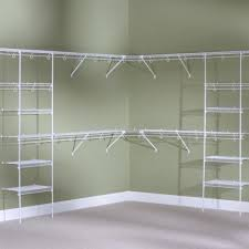 affordable rubbermaid wire shelving with small walk in