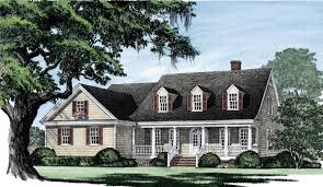 House Plan at FamilyHomePlans comClick Here to see an even larger picture  Cape Cod Country Southern Traditional House Plan