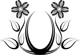 Clipart Design Flower Designs Jpg Black And White Library Rr Collections
