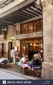 spanish restaurant building. Simple Restaurant Guests In An Open Air Area Of A Restaurant Morella Castellon Costa Del And Spanish Restaurant Building E