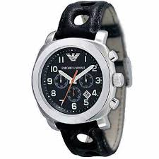 emporio armani ar5825 black leather mens designer posh watch emporio armani ar5825 black leather mens designer watch