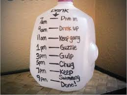 Image result for drinking a gallon jug of water per day
