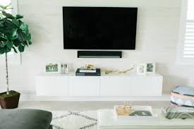 ikea hack diy floating tv console tv console ikea i27 ikea