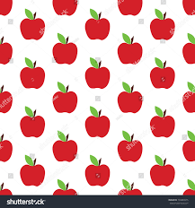 cute fruit wallpaper. Contemporary Wallpaper Red Apple Seamless Pattern Background With Cute Fruits Group Of Objects  For Wallpaper For Cute Fruit Wallpaper E