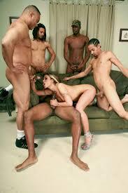 Black dick group anal