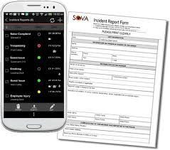 Sova Incident Report Writing Software