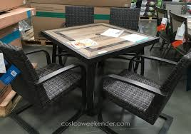 glass top dining table costco. awesome agio patio furniture costco 47 about remodel apartment decorating ideas with glass top dining table