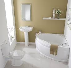 bathroom suite with corner bath