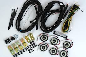 kc hilites cyclone led rock light kit 07 18 jeep jk 6 pc clear KC LED Lights Replacement Bulbs at Kc Hilites Led Wiring Harness