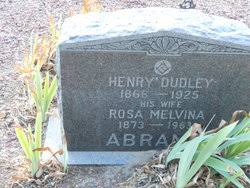 Henry Dudley Abrams (1866-1925) - Find A Grave Memorial
