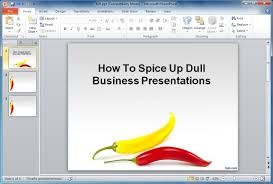 how to spice up dull subject material in your business presentation