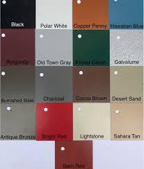 A D S Metal Roofs Llc Color Gallery Friendsville Tn