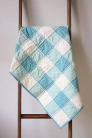 This pretty green gingham quilt is warm, but not too heavy. Cotton ... & This pretty green gingham quilt is warm, but not too heavy. Cotton quilting  fabric is used in the front, muslin in the back, and soft cotton batting in  ... Adamdwight.com