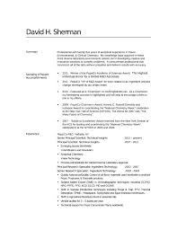 professional analytical chemist resume template .