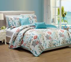 rt designers collection coastal 5 piece quilt set queen