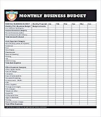 excel business budget template business monthly budget template business budget template for