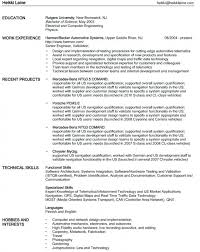 Resume Navigation Enchanting Free Download Sample Unique Bs Double Major Resume Ideas Example