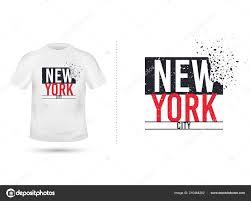 New Design Printing New York City Slogan Shirt Printing Design Tee Graphic