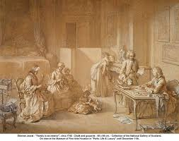 best th century french society images 18th century french family family in an interior circa 1745 notice the child