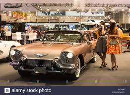 Essen, Germany. 5th Apr, 2017. A 1957 Cadillac Eldorado Brougham ...