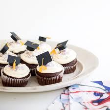 Mini Graduation Caps Cupcake Toppers Diy