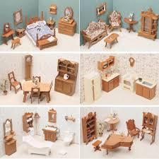 miniature dollhouse furniture woodworking. Amazon.com: Greenleaf 6 Room Furniture Kit Set-1 Inch Scale: Toys \u0026 Games Miniature Dollhouse Woodworking M