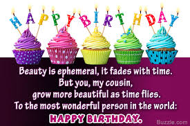 Happy Birthday Cousin Female Lovely Meme
