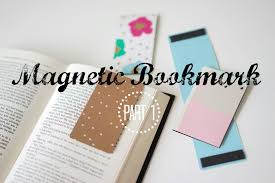 DIY Organization | Make Magnetic Bookmarks Out of File Folders - YouTube
