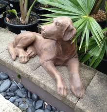 dog garden statue. Plain Dog Large Dog Garden Statue U2013 Free Shipping NSW QLD VIC SA ACT Intended Cherry Road Nursery